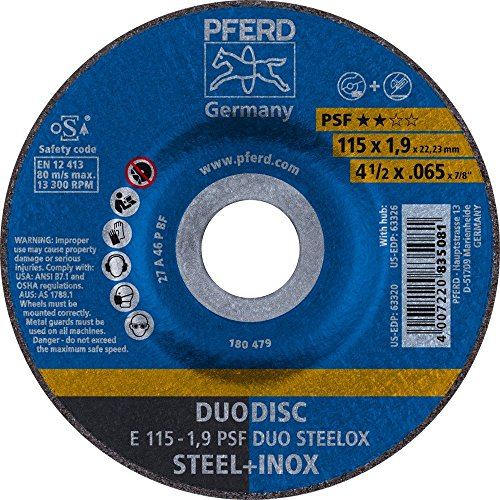 Pferd - Disco Combi.E 115-1,9 A46 P Psf-Inox Duo
