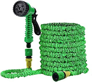 Ram© Expanding 100FT Garden Hose Outdoor Lawn Watering Irrigation Hose With Hose Hanger