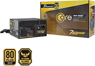 Fuente de alimentación parcial para PC CORE-GM-500 de temporada 80PLUS Gold 500 vatios