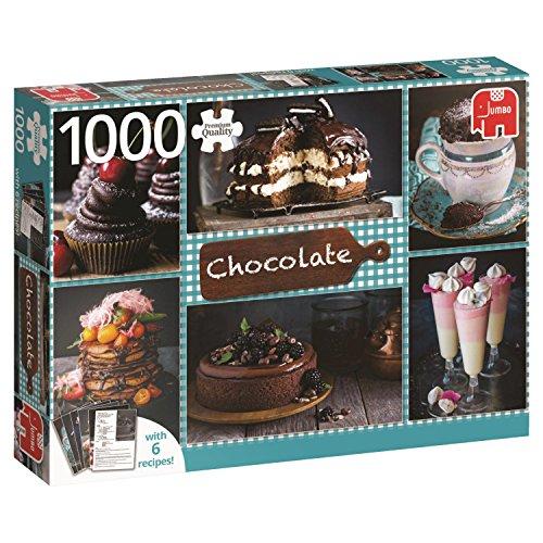 Chocolade met recepten - 1000 delen puzzel