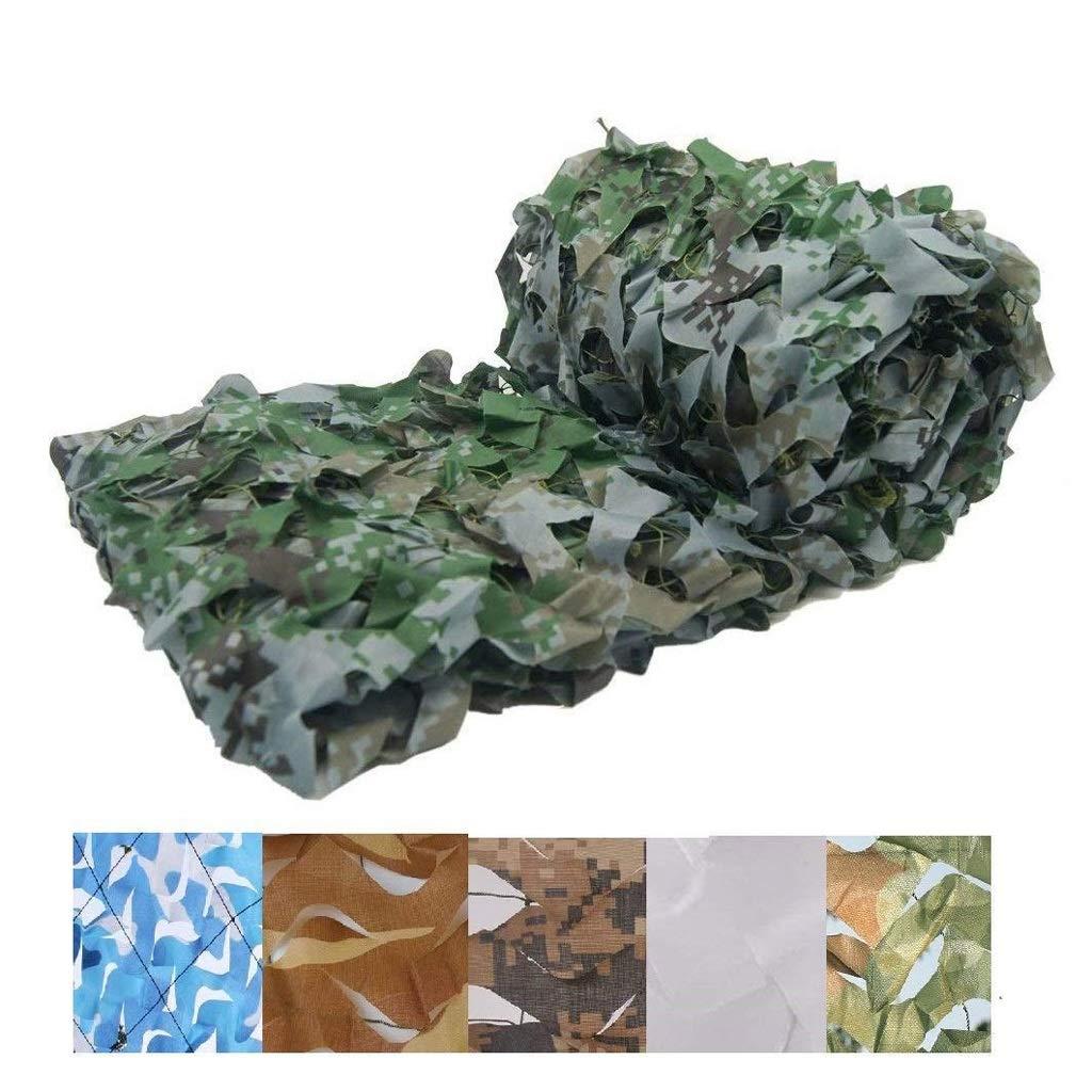 Toldos Impermeables Exterior 4x4, toldos Impermeables Exterior para Jardín Decoración Ejército Caza Militar Red de Sombra de Jardín,Camuflaje Digital (Size : 4 * 5M(13.1 * 16.4ft)): Amazon.es: Jardín