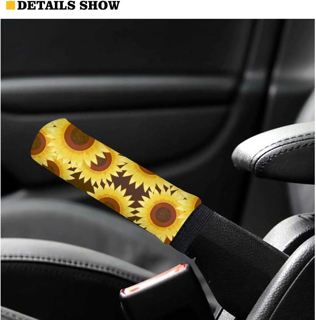 Hand Brake Grip Cover Forchrinse Swirl Tie Dye Soft Polyester Car Gear Shift Knob Cover Set,Non Slip Universal Auto Shift Stick Handle Protector