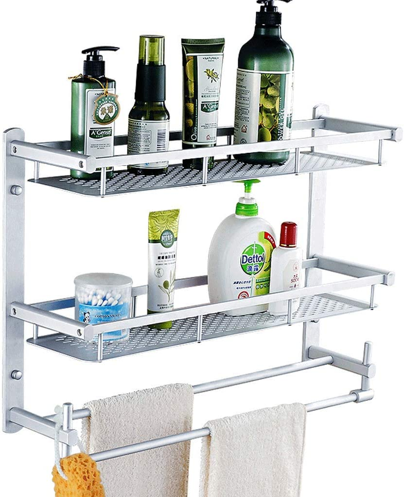 FHK Towel Rack Punch Free Hanging Wall sold out Bathroom Space Regular dealer