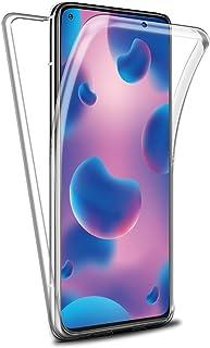 Reshias Funda para Xiaomi Mi 10T, 360°Full Body Protección [Suave TPU Silicona Delantero] [PC Dura Atrás] Transparente Fli...