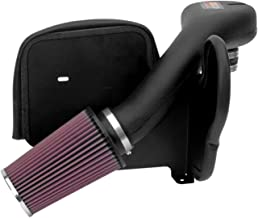 K&N Cold Air Intake Kit with Washable Air Filter:  1996-2001 Jeep Cherokee, 4.0L L6,  Black HDPE Tube with Red Oiled Filter, 57-1518