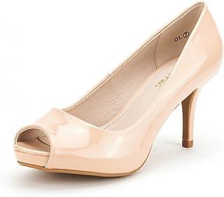 63c1177b87f6 DREAM PAIRS Women s City OT Fashion Stilettos Peep Toe Pumps Heels Shoes
