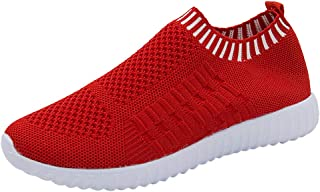 LIM&Shop Women's Athletic Walking Shoes Casual Mesh-Comfy Work Sneakers Running Shoes Lightweight Breathable Shoes