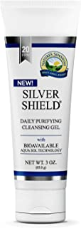 Nature's Sunshine Silver Shield Gel, 3oz. Tube   Colloidal Silver Gel With Aqua Sol Technology Promotes Natural Skin Hydration with a Moisturizing Effect