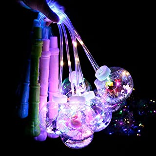 Licogel LED Ball Toy Flashing Cartoon Interactive Portable Plastic Bright Party Favor Concert Bar Kids Children
