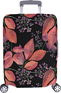 Promini Pumpkins Halloween Travel Luggage Cover Suitcase Protector Washable Baggage Covers Spandex Elastic Dustproof 18-32 Inch