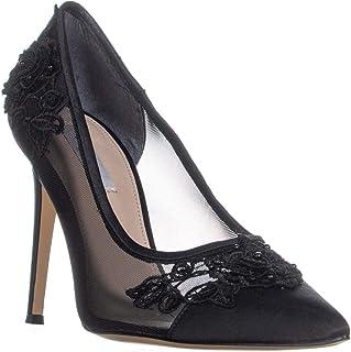 Nina Donela Pointed Toe Classic Heels, Black