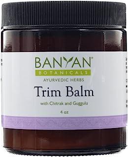 Banyan Botanicals Trim Balm - Certified Organic, 4 oz - Chitrak and Guggulu Increases Metabolism