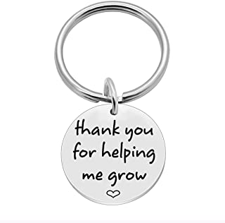 SOSOHOME Thank You for Helping Me Grow - Teacher Appreciation Gifts - Term Begin Term End or Graduation Gift for Teachers