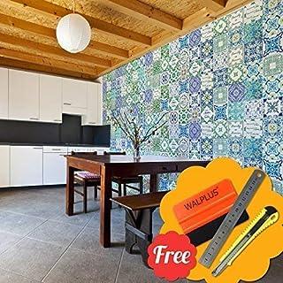f1812ef7fcc8 Walplus Extraíble Autoadhesivo Arte Mural Adhesivos Vinilo Decoración Hogar  Bricolaje Living Cocina Dormitorio Decor Papel Pintado