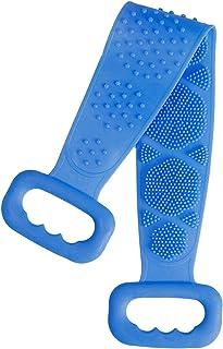 cepillo para polvo exfoliante de silicona para la parte trasera de la ducha, cepillo para polvo para el cuerpo de la ducha...