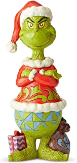 Enesco Grinch by Jim Shore Grinch Statue with Arms Folded Statue, 20