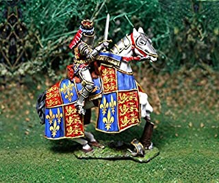 Medieval Knight Toy Soldiers Mounted Henry V Collectors Showcase Toy Soldiers Painted Metal Figure 54mm-56mm CS00795 Britains Type
