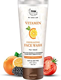 TNW-The Natural Wash Vitamin C Face Wash for Glowing Skin | Face Wash for Curing All Skin Problems | Suitable for All Skin...