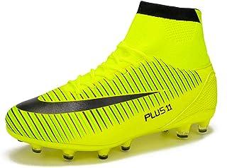 152cb80df31 MAXTOP Zapatos de fútbol Hombre FG Spike Botas de fútbol de Caucho para  Hombre Adulto Zapatos