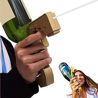 シャンパン銃、シャンパン銃、シャンパン郡スプレーレイヤーブルスブスターアルコール銃ワインストッパー、ワインのボトル、互換性のある750mlシャンパンボトル