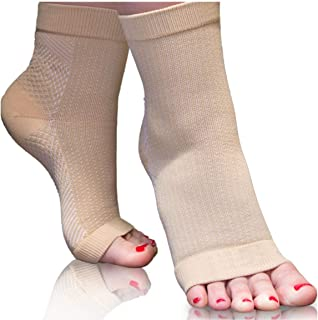 Plantar Fasciitis Compression Socks Women. Relieve Pain, Heel Spur, Swelling & Aching Feet. Easy Care & Better Than A Nigh...