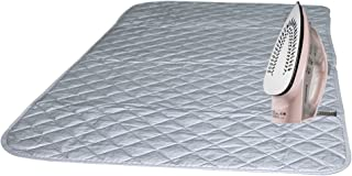 Bukm Ironing Blanket, Magnetic Ironing Mat Laundry Pad, Quilted Washer Dryer Heat Resistant Pad, Ironing Board Covers (33 1/2