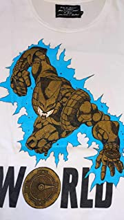 ultra-violence アルトラバイオレンス ジョジョの奇妙な冒険 DIO ディオ ザワールド Tシャツ Mサイズ 荒木飛呂彦 スタンド 時止め ナイフ