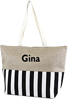 personalized large tote bags
