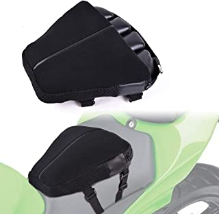 Motor-mh Motorcycle Cruiser Seat Air Cushion Pad for Comfortable Traveling Pressure Relief Durable Fabric Fits Most Seats of Sport Touring Saddles 12