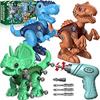 Laradola 3-5 STEM Construction Building Dinosaur Toys