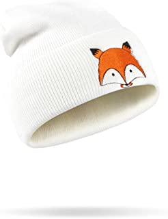 DaySeventh Embroidery Pattern Hat Unisex Warm Hat Knitted Cap Hats Warm Cap Soft Cap