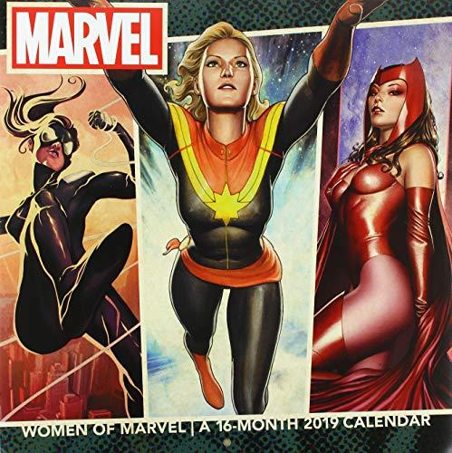 Women of Marvel 2019 Calendar