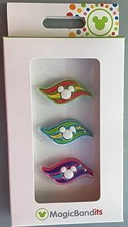 Disney Cruise Line Logo Magic Band Bandits Set of 3 Charms