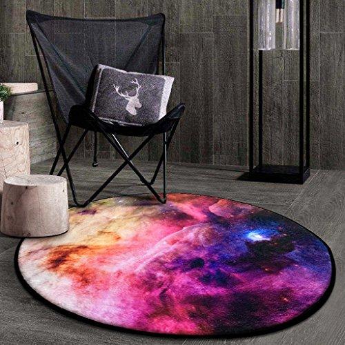 Good thing tapis Tapis rond Carpet Star Round Rug, coussins pour enfants chambre tapis d'ordinateur tapis de sol salon chambre panier rond tapis (taille : Diameter 80CM)