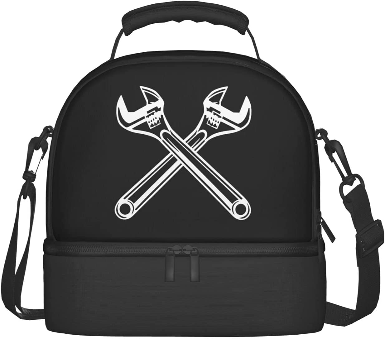 Crewneck Ironworker Crossed Indefinitely Tools List price Lunch In Bags Compartments Two