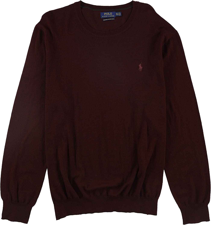 Ralph Lauren Mens Crew Neck Pullover Sweater