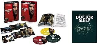 【Amazon.co.jp限定】ドクター・スリープ 4K ULTLA HD&ブルーレイセット (初回仕様/3枚組/ディレクターズカット ブルーレイ, ブックレット&ポストカード7枚付) (オリジナルプレスシート付) [Blu-ray]