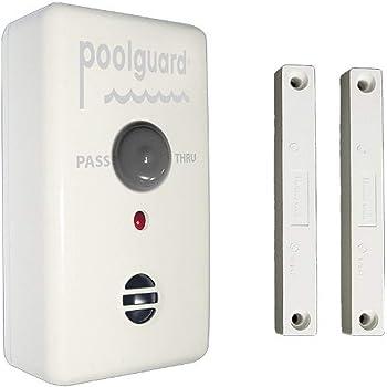 Poolguard GAPT-2 Outdoor Pool Gate Alarm,White