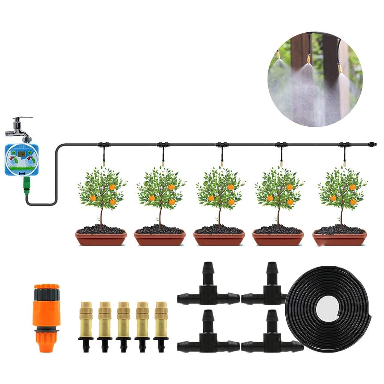 緊張寄稿者最少自動散水装置、ガーデニングタイミング灌漑装置、弱電流保護、設定が簡単、芝生庭園灌漑用
