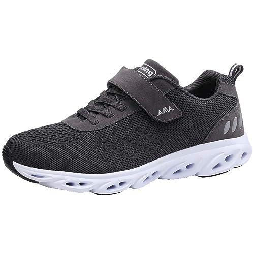 meet 6d3c0 63656 Monrinda Women Men Running Trainers Lightweight Shock Absorbing Shoes  Breathable Athletic Gym Jogging Sports Sneakers