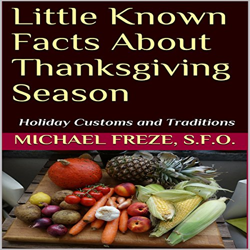 Little Known Facts About Thanksgiving Season audiobook cover art