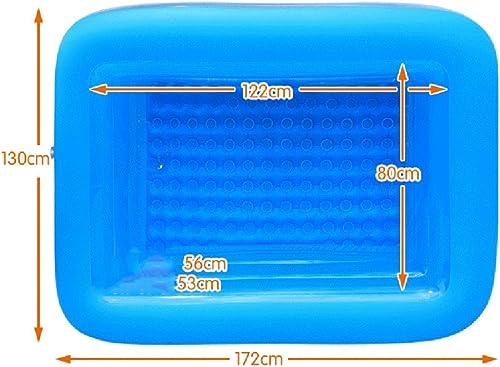 marca en liquidación de venta JXXDDQ Piscina Grande Grande Grande para Niños Piscina Infantil Piscina Infantil Piscina Inflable para Niños (172 cm x 130 cm x 55 cm)  hasta 60% de descuento