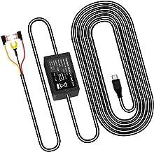 Zerogogo Dash cam Hardwire kit, Dash Camera and GPS Dash Cam Cable 11.5ft 12V-24V to 5V, Dashcam Hardware Kit with Parking...
