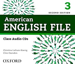 American English File Second Edition Level 3 Audio CD