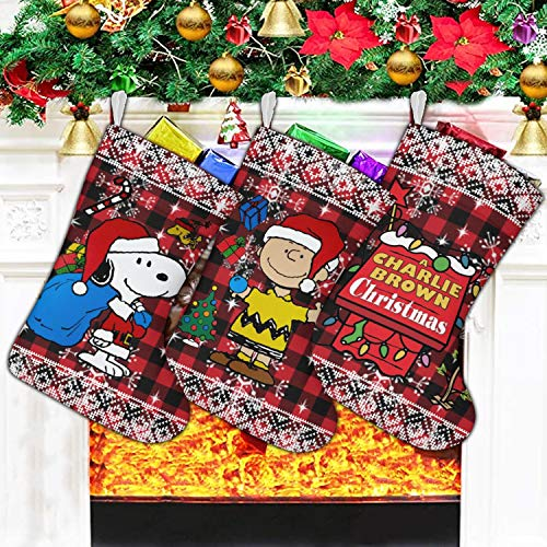 Christmas Stockings Set Of 3 Pack