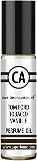 CA Perfume Impression of Tobacco Vanilla for Man Fragrance Body Oils Alcohol-Free Essential Aromatherapy Sample Travel Siz...