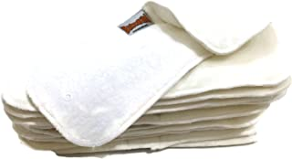 BB2 One Size Adjustable 4 Layers Bamboo Cloth Diaper Inserts Add On (12 Pieces)