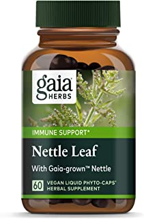 Gaia Herbs Nettle Leaf Liquid -Capsules, 60 Count
