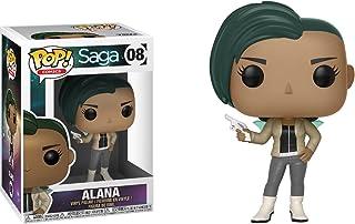 Alana: Funko POP. Comics X Saga figura de vinilo + 1tarjeta de temática de cómic Trading oficial paquete [# 008]