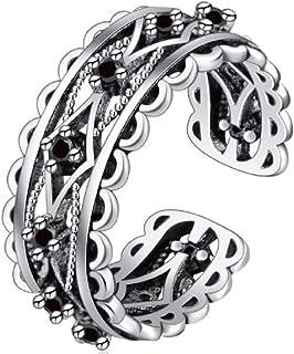 Weishu التايلاندية الفضة أزياء العلامة التجارية الرجعية خاتم شخصية الإبداعية خاتم العمل أنثى الرجال المجوهرات هدية